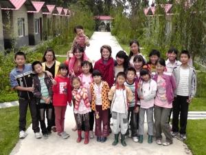 Communauty kids in Yunnan