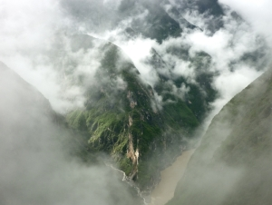 RS Misty misty place (Tiger leaping gorge)