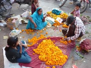 Flowers for Dewali